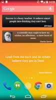 Screenshot of Brilliant Quotes PREMIUM