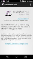 Screenshot of VolumeNext Free