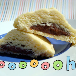 Nutella-Filled Shortbread Cookies