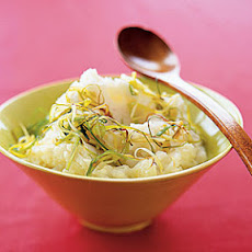 Mashed Potatoes With Sautéed Leeks