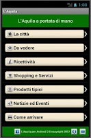 Screenshot of L'Aquila per Android
