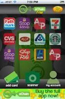 Screenshot of MyEchain Free Loyalty Card App