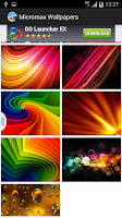 Screenshot of Micromax Wallpapers