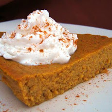 Sugar Free Pumpkin Custard