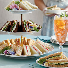 Cucumber and Strawberry Tea Sandwiches