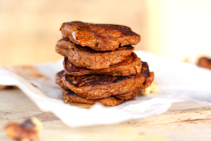 Pumpkin Spice Protein Pancakes Recipe | Yummly