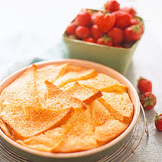 Bread-and-Butter Pudding with Strawberries