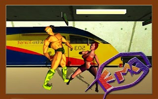 Screenshot of Fight Masters 3D fighting game