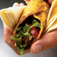 Quick Pancake Wraps