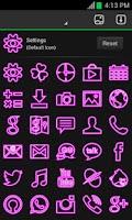 Screenshot of Pink Neon Free Theme