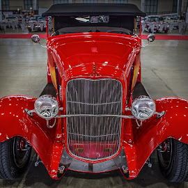 Red Rod by Ron Meyers - Transportation Automobiles
