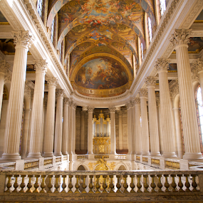 Chapel at Versailles  by Benjamin Arthur - Buildings & Architecture Places of Worship ( religion, paris, louis xvi, marie antoinette, royalty, benjiearthur, versailles, louis xiv, france, benjaminarthur.com, french, king )