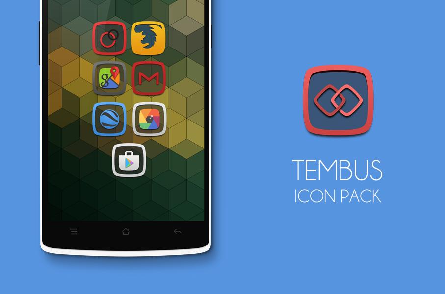 Tembus - Icon Pack Screenshot 0