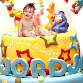 Happy birthday  by Sadzak Vladimir - People Portraits of Men ( cake, birthday, candy, toys, baby,  )