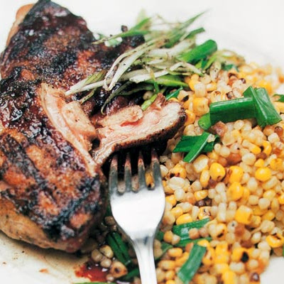 Guinea Hen with Sweet Corn Fregula