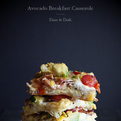 California Avocado Breakfast Casserole