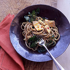 Linguine and Tuna with Spicy Orange Sauce