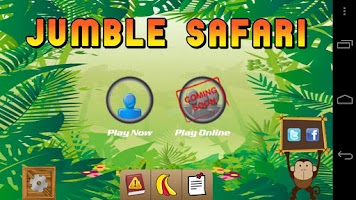 Screenshot of Jumble Safari