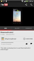 Screenshot of DhammaDroid