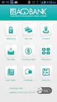Screenshot of AGD BANK
