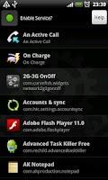 Screenshot of App Auto Settings