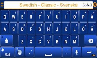 Screenshot of SlideIT Swedish Classic Pack
