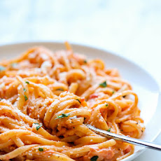 Roasted Red Pepper Alfredo