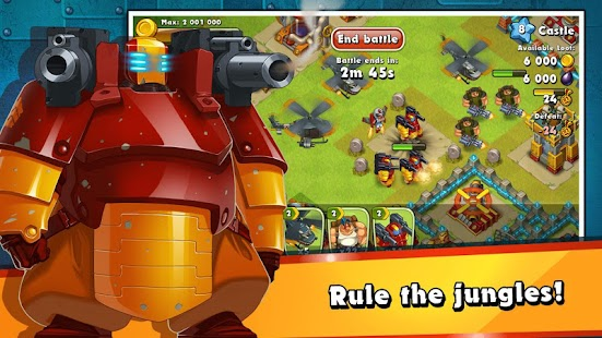 Free Jungle Heat: War of Clans APK for Windows 8