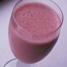 Strawberry Buttermilk Smoothie