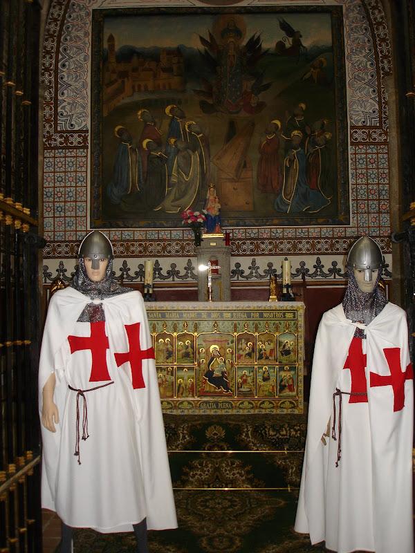 Los Templarios en la Virgen de Guia