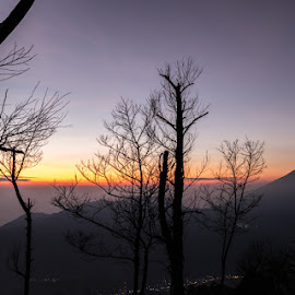 Silver Sunrise by Rebellious Rock - Landscapes Mountains & Hills ( hills, mountain, sunrise,  )