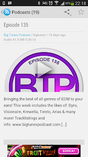 Big Tunes Podcast - screenshot