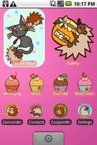 無料个人化AppのDVR:ハリネズミカフェパック|記事Game