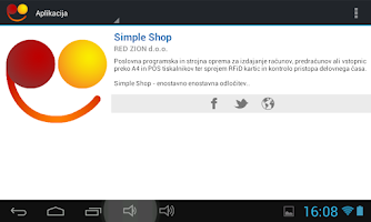 Screenshot of Simple Shop RSS