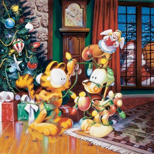 Garfield Holiday Tree Live WP LOGO-APP點子