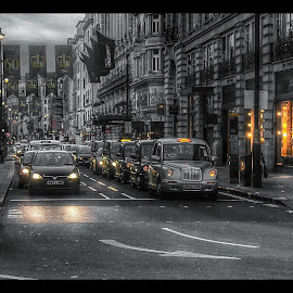 London by Khuloud Elzwai - City,  Street & Park  Street Scenes