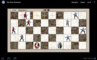 Screenshot of The Three Musketeers Game