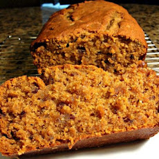 Sour Cream Pumpkin Bread
