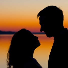 J&K by Kevin Elwell - People Couples ( silhouette )