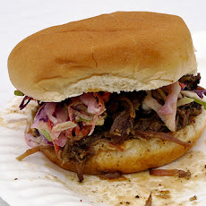 Pacific Rim Pork Sandwiches With Hoisin Cole Slaw