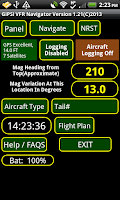 Screenshot of VFR World GPS Airplane Nav APP