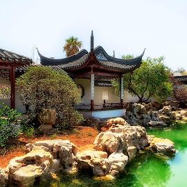 'visiter le jardin' by Lino Chetcuti - City,  Street & Park  City Parks