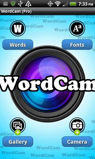 WordCam FREE