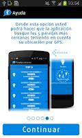 Screenshot of Cuando llega