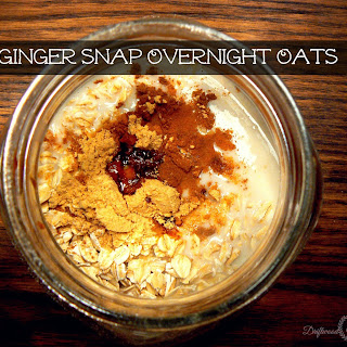 Ginger Snap Overnight Oats
