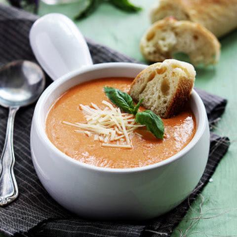 Slow Cooker Tomato Basil Parmesan Soup Recept | Yummly