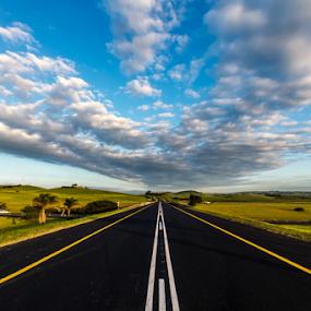by Nobby Clarke - Transportation Roads ( Free, Freedom, Inspire, Inspiring, Inspirational, Emotion )