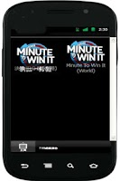 Screenshot of Minute to Win it