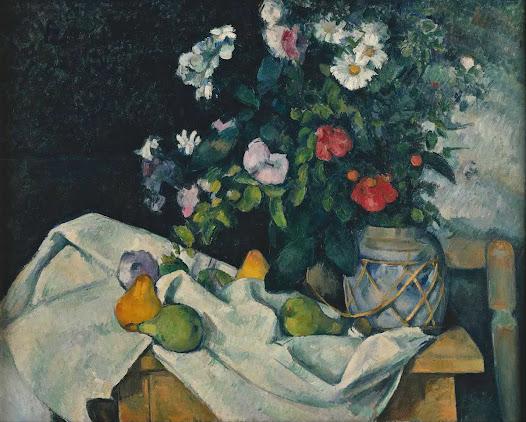 Cézane Paul, Fiori e frutta