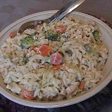 Easy Creamy Pasta with Veggies
